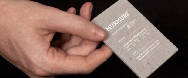 """Şimdi 'beton kartvizit"""" moda"""