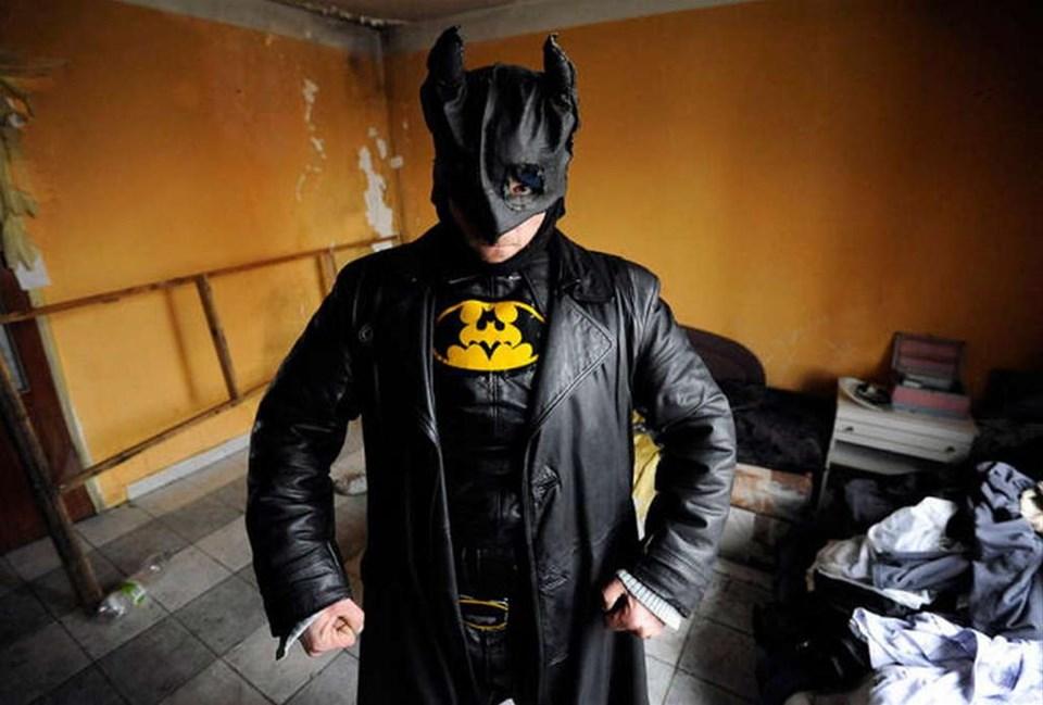 Slovak Batman iş başında