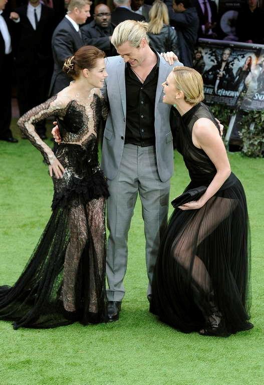 'Snow White and the Huntsman' ın Londra galası