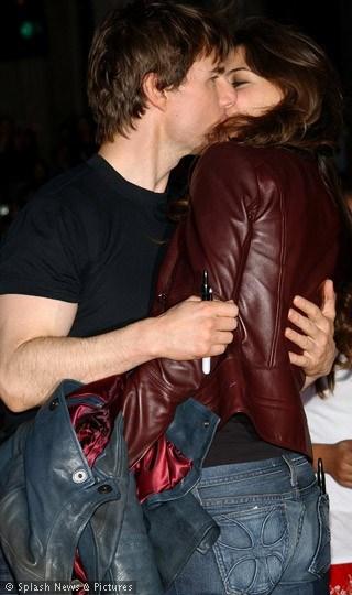 Starların aşk öpücükleri