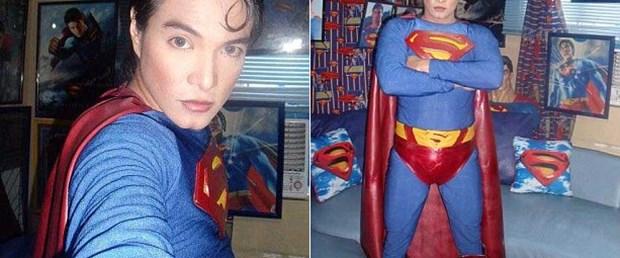 Superman'e benzemek için...