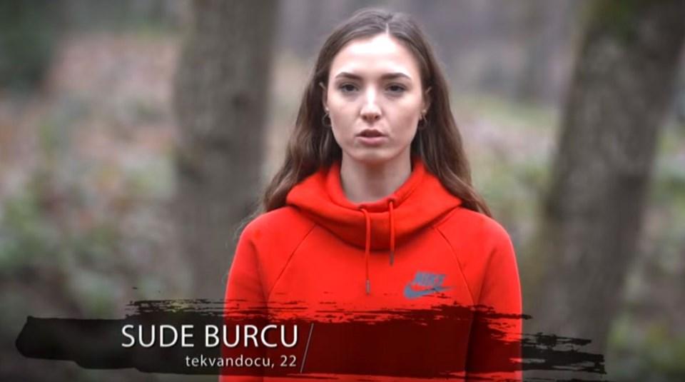 9- Survivor 2019 yarışmacısıSude Burcu