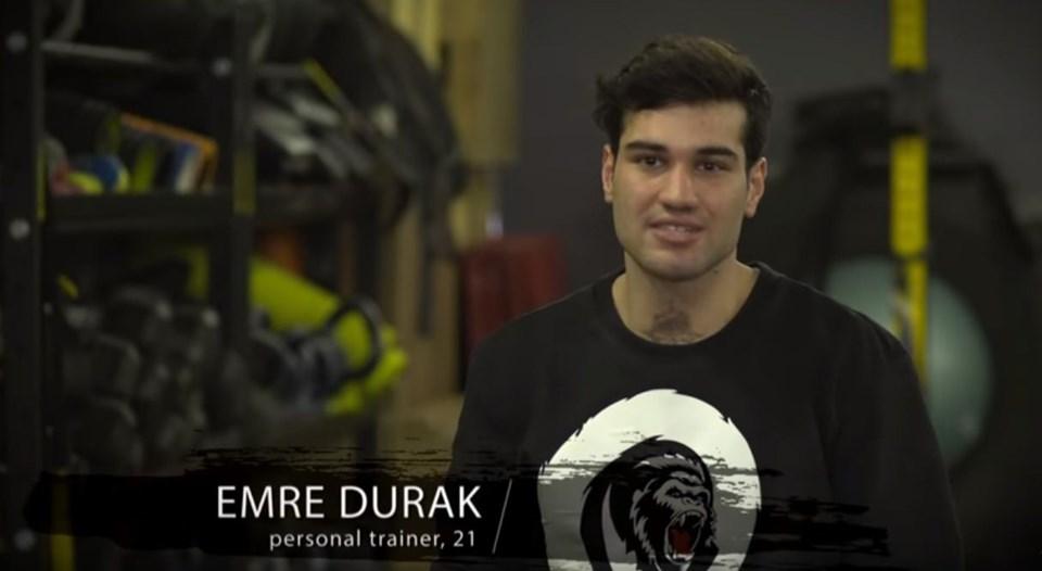 Survivors 2019 nominated competitor Emre Durak