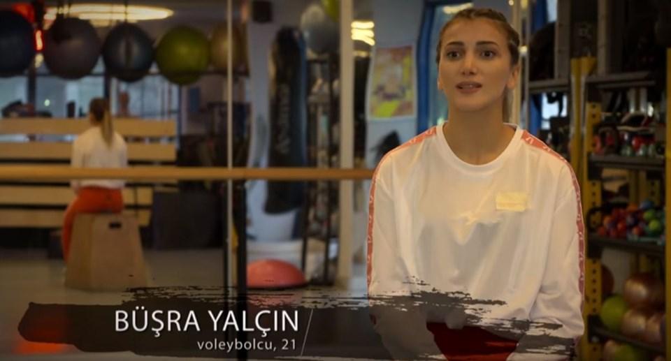 The 8-player of Survivor 2019 Büşra Yalçın