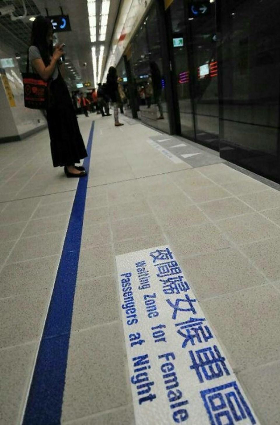 Tayvan'daki duraklarda, kadınların bekleme yerine belli bir saatten sonra erkeklerin girmesi yasak.