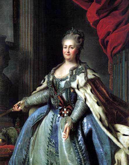 Büyük Katerina 1729-1796