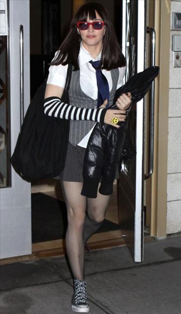 Teenager Madonna