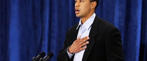 Tiger Woods: Çok özür dilerim