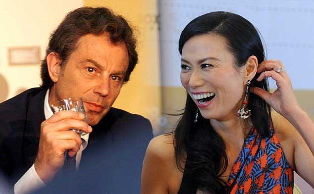Tony Blair'i çıldırtan soru
