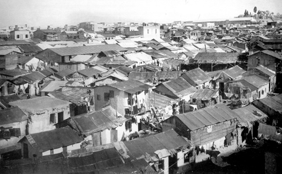 Halep'teki Ermeni göçmen kampı, 1920'ler...