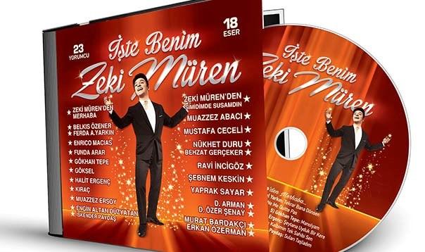 """""""İşte Benim Zeki Müren"""" albümü için 25 Mayıs'ta Emek Sineması'nda özel bir konser düzenleniyor."""