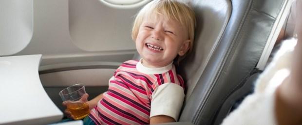 Uçakta 'çocuksuz alan'