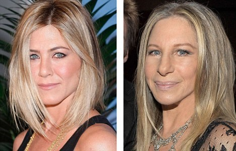 Jennifer Aniston ve Barbra Streisand