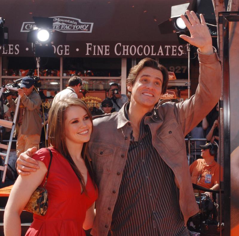 Jim Carrey ve kızı, Jane