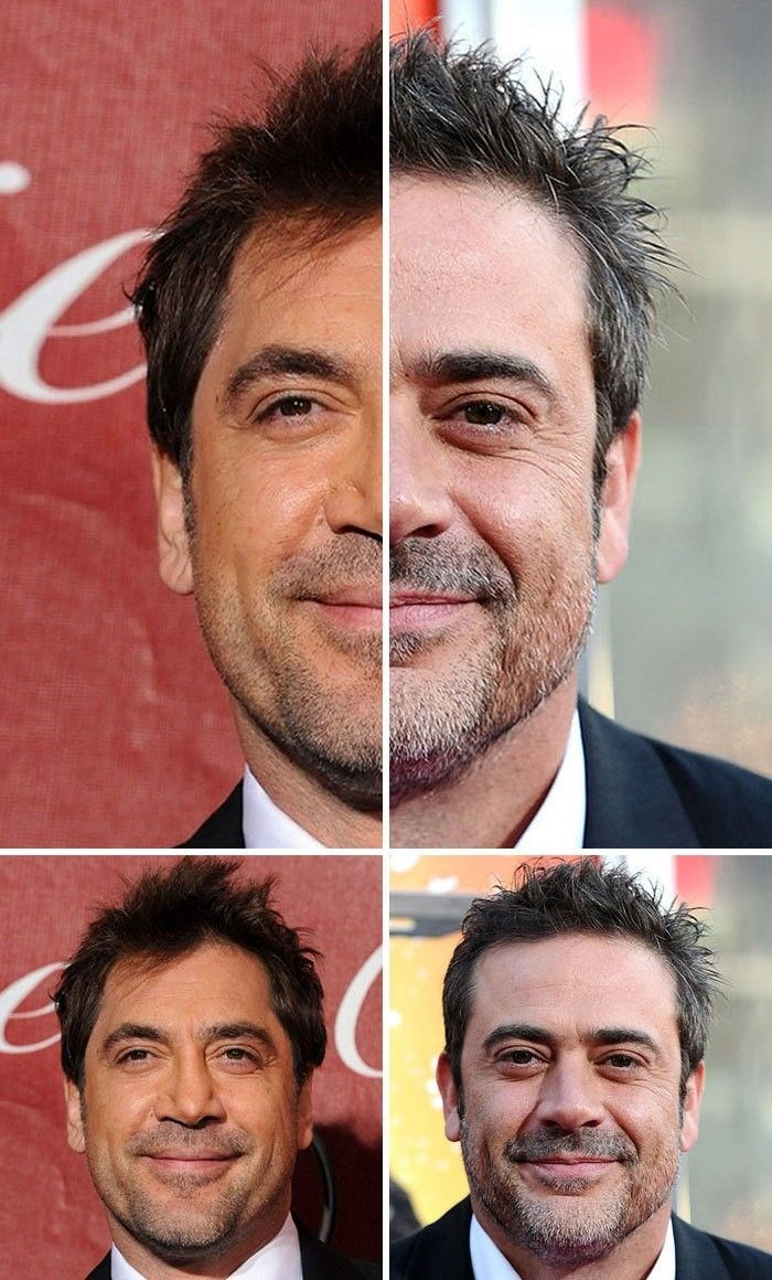 Javier Bardem ve Jeffrey Dean Morgan