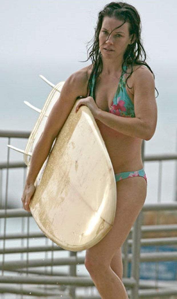 evangeline lilly with both - photo #36