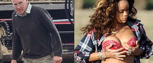 Üstsüz Rihanna'ya çiftçi tepkisi