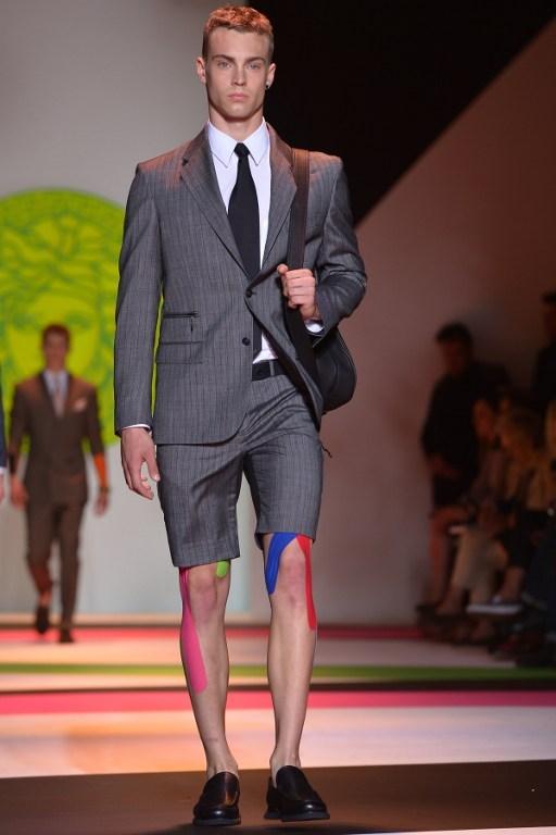 Versace'den erkek modası