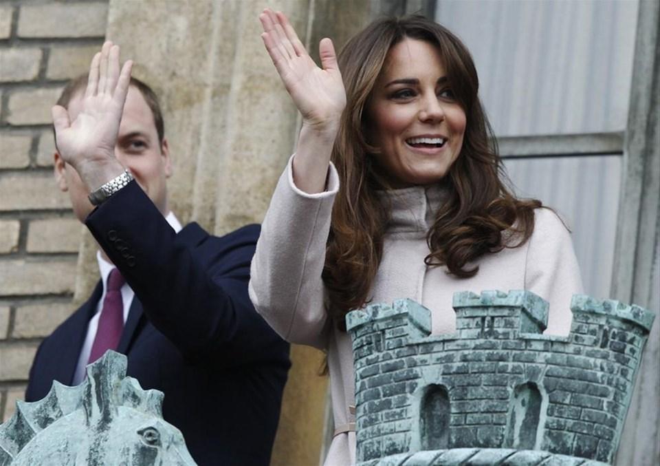 William ve Kate ilk kez Cambridge'de