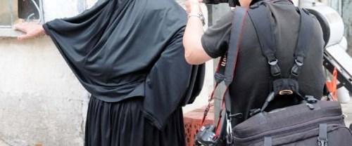 Yabancı fotoğrafçıların çarşaflı kadın ilgisi