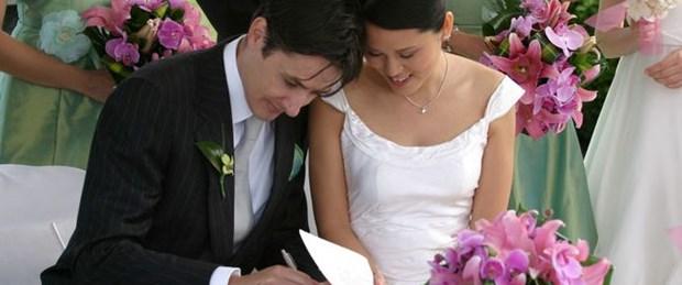 Yabancılar Antalya'da evleniyor