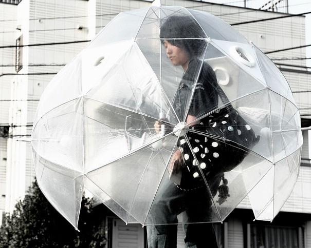 Yağmuru keyfe dönüştüren tasarımlar