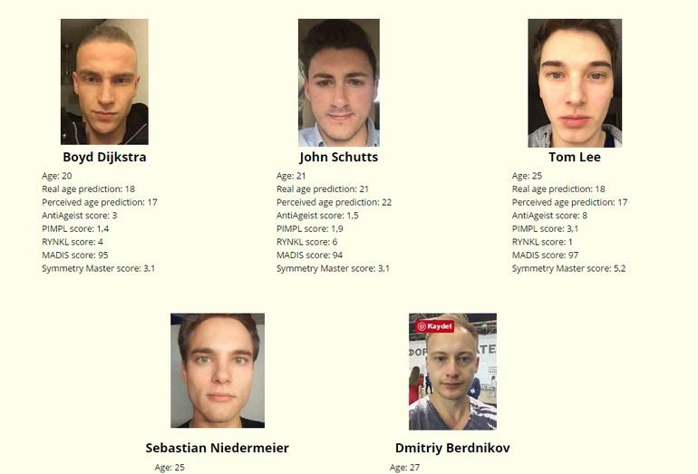 18-29 yaş grubu erkekler: