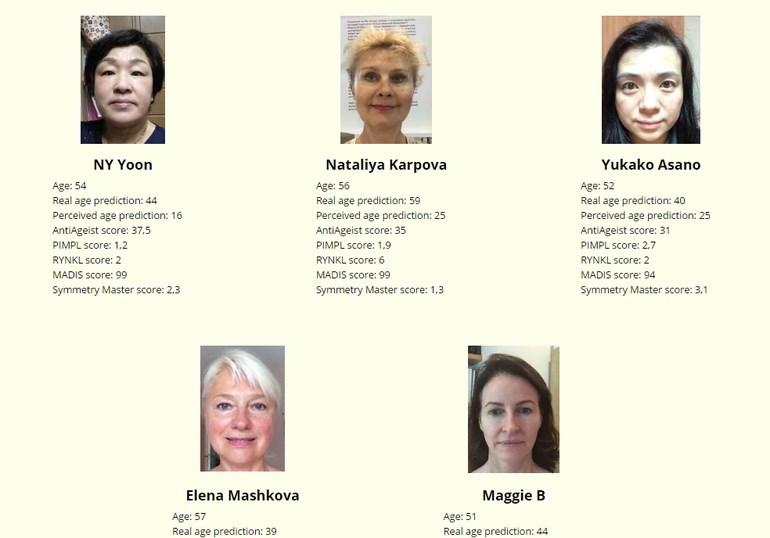 50-59 yaş grubu kadınlar: