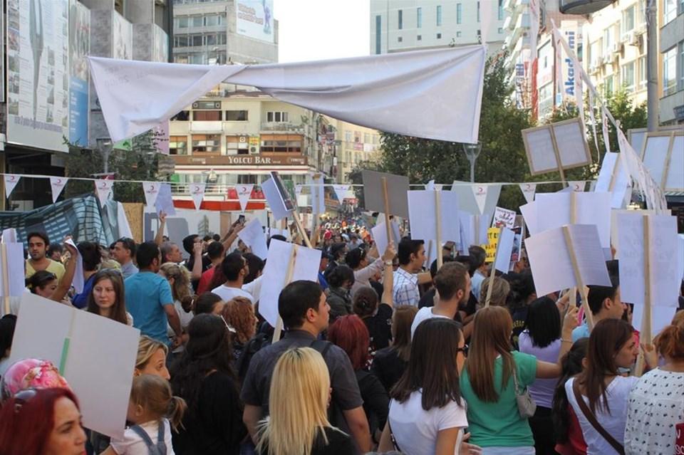 Yaşam hakkı için Ankara'da yürüdüler