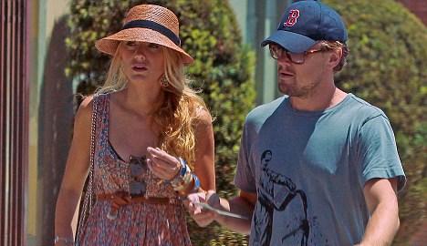 Blake Lively ve Leonardo DiCaprio birlikteyken