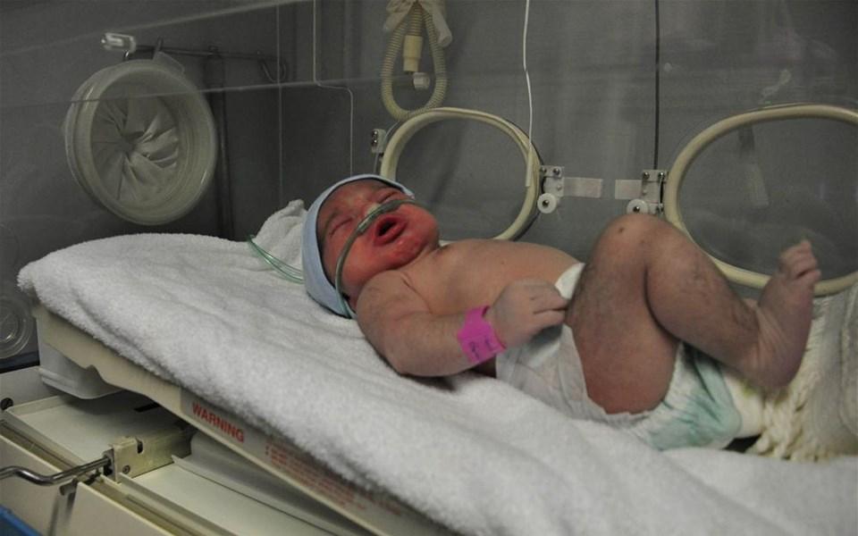 İstanbul'da yeni yılın ilk bebeği