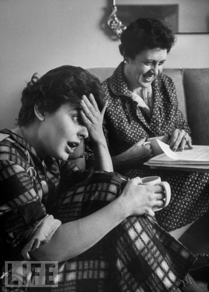Anne Bancroft ve annesi Mildred