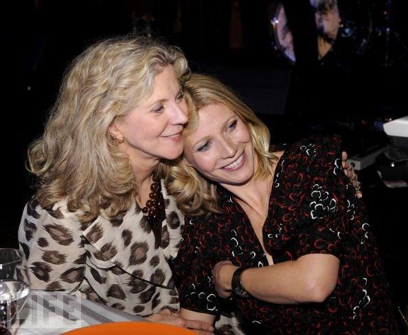 Blythe Danner ve kızı Gwyneth Paltrow