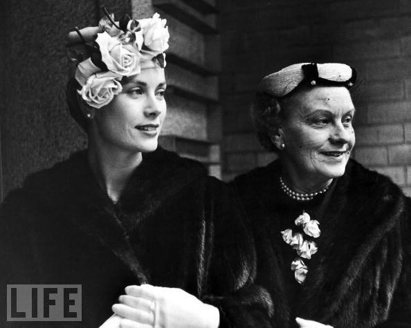 Grace Kelly ve annesi Margaret Majer Kelly