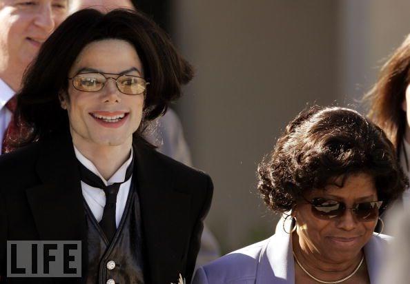 Michael Jackson ve annesi Katherine