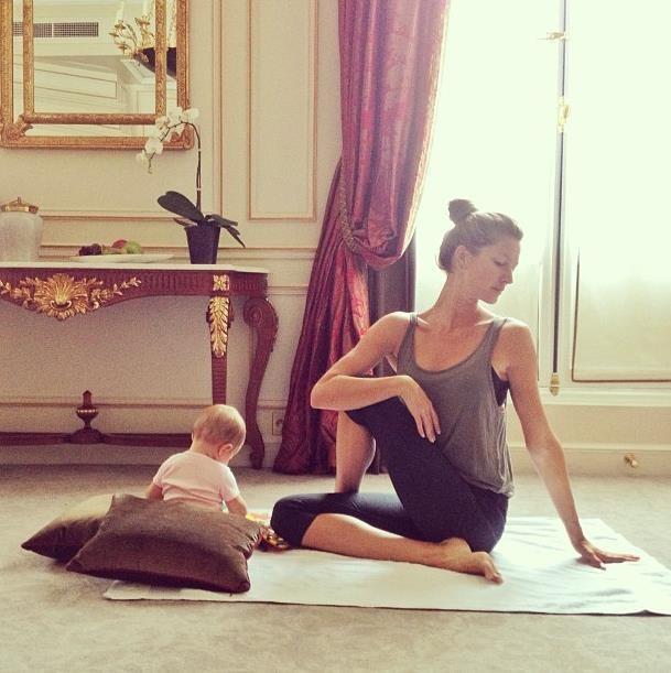 'Yoga zamanı'