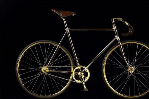 Aurumania altın bisiklet