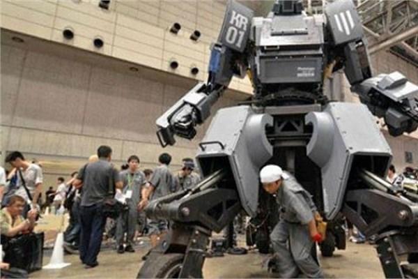 Büyük robot savaşçı