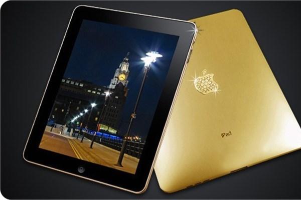iPad 2 altın serisi