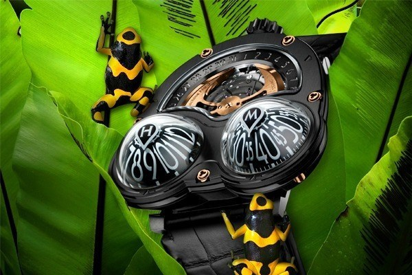 Kurbağa tasarımlı saat