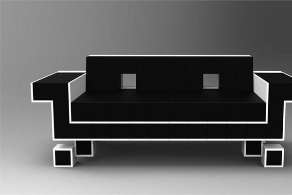 Retro uzay koltuğu