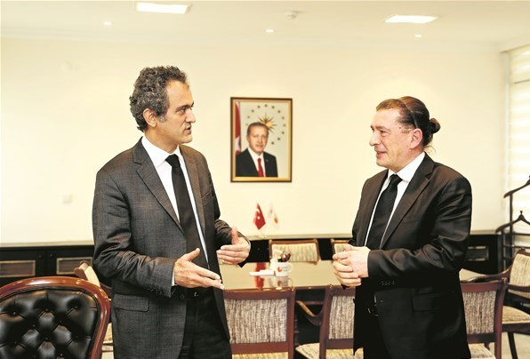 ÖSYM Başkanı Prof. Dr.Mahmut Özer ile buluştuk
