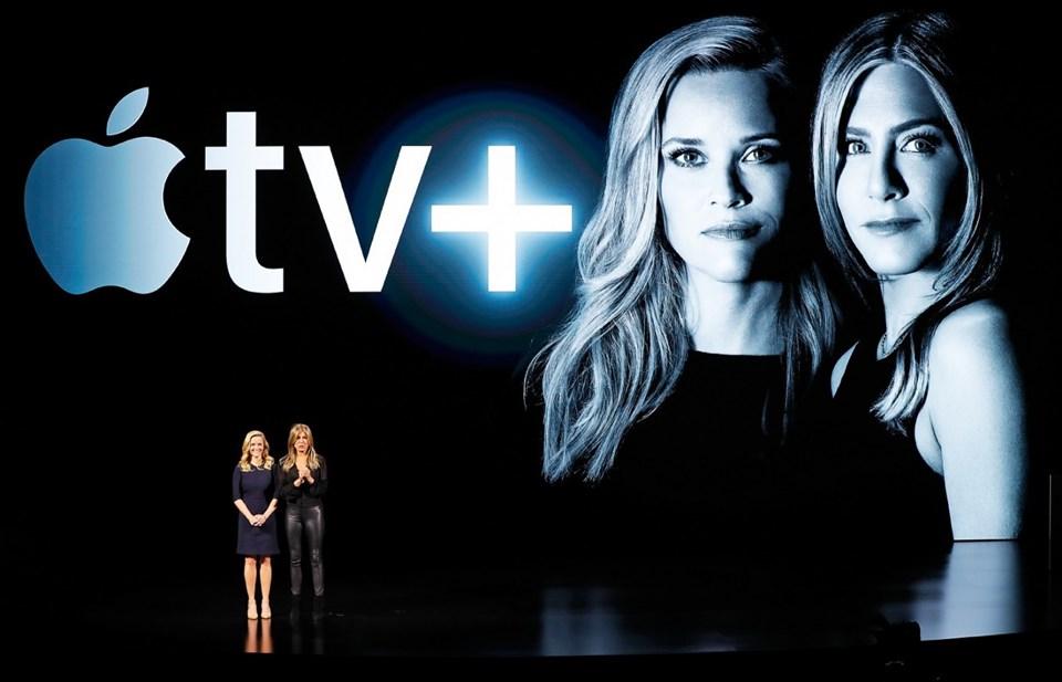 ReeseWitherspoon,JanniferAniston, SteveCarrelApple TV+'ta kendi televizyon programlarıTheMorning Show'u sunacaklar.