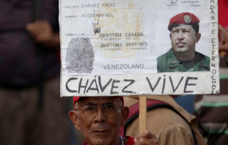 Hugo Chavez ülkede ABD karşıtlarının sembolü durumunda