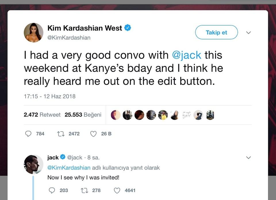Kim Kardashian'ın serzeniş twwet'i