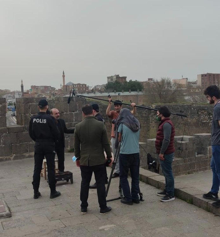 Diyarbakır'ın tarihi mekanları dizi çekimleri için doğal plato oldu - 2