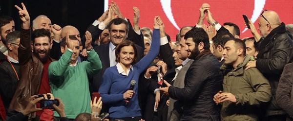 Son dakika haberi...CHP İstanbul İl Başkanlığı'naCanan Kaftancıoğlu seçildi
