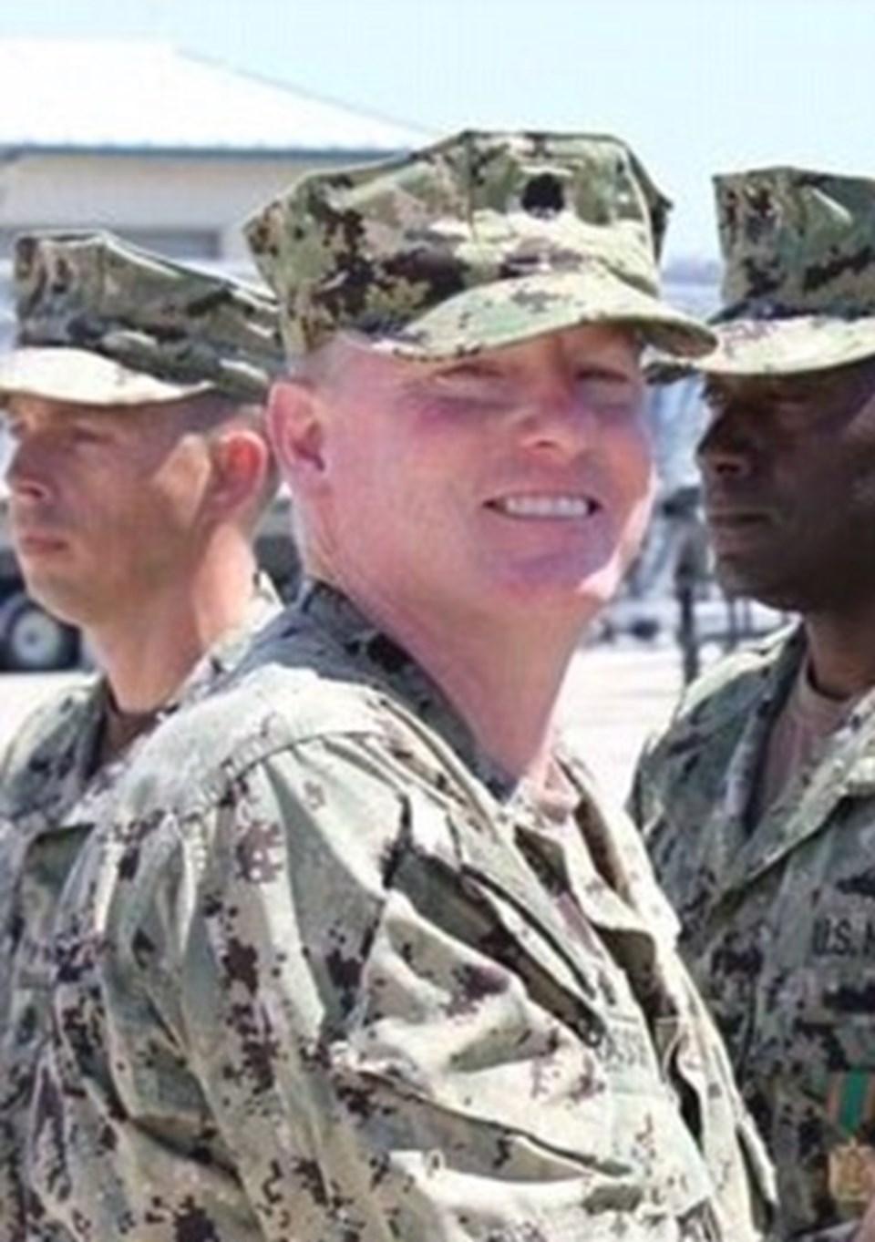 Gözaltına alınan ABD'li komutan Eric Rasch