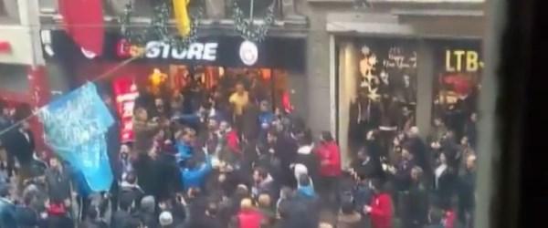 İstiklal Caddesi'ndeki GS Store'a saldırı