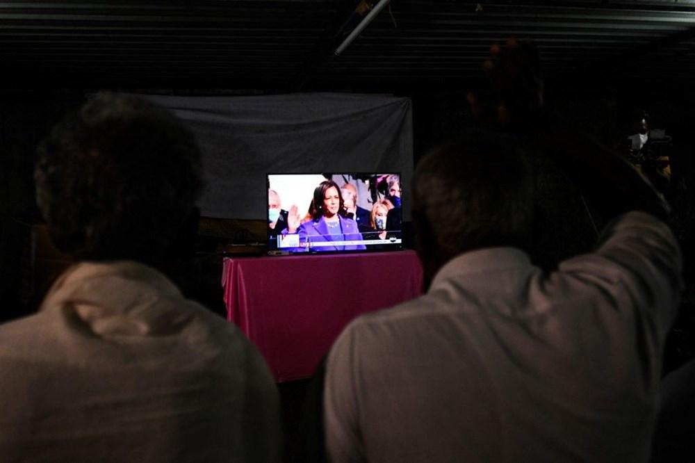 ABD tarihinin ilklerinin sahibi yemin etti: 'Kamala Harris'in köyü' büyük sevinç içerisinde - 9